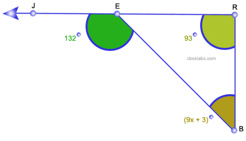 Exterior angle property of a triangle cbse tuts What do exterior angles of a triangle add up to